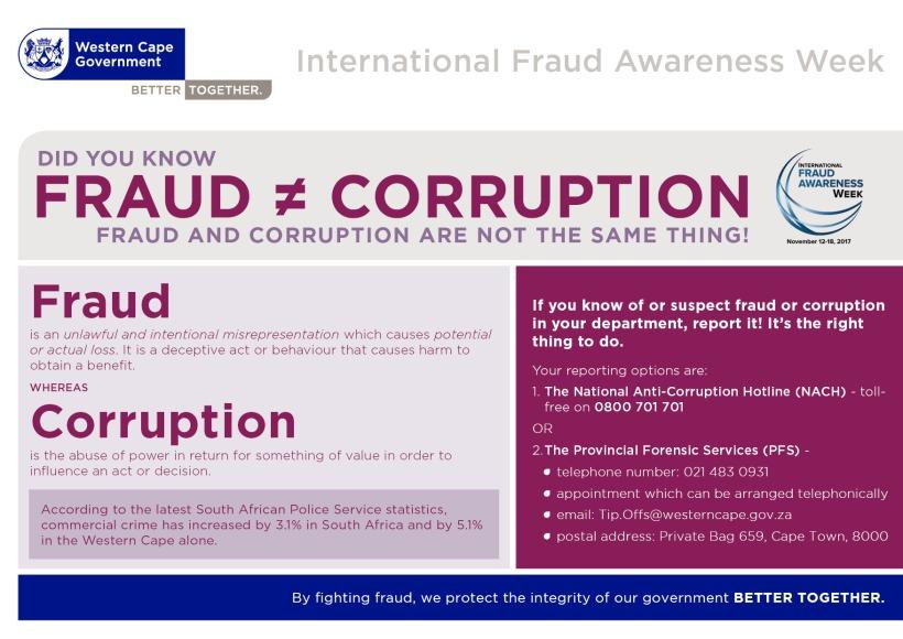 Fraud Awareness 2017